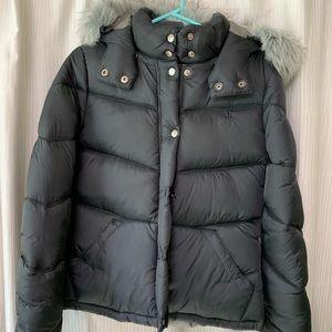 Hurley black puffer jacket